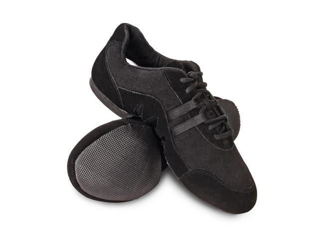 Sansha Adult Black Canvas Suede Rubber Split Sole Buzz 3 Jazz Shoes Womens  10 eea4bfa7ee0
