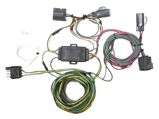 Blue ox bx ez light wiring harness kit fits cr