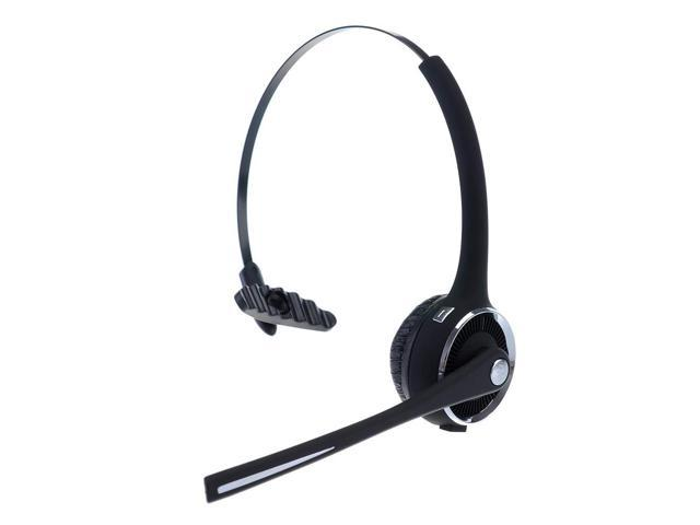 Bluetooth Headset Headphone With Flexible Boom Mic Charging Dock For Computer Iphone Samsung Htc Tablet Newegg Com