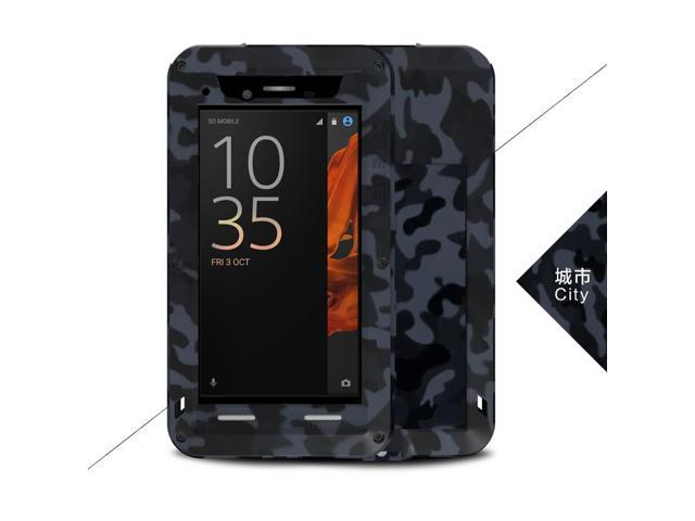 online store 1e793 6fc0a Love Mei Shockproof Waterproof Metal Aluminum Case For SONY Xperia XZ -  City - Newegg.com