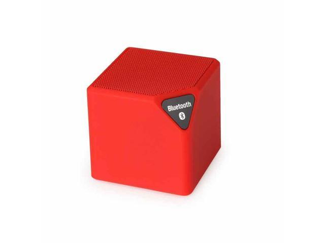Fineblue Bluetooth Speaker X3 Cube Led Speaker TF USB Wireless Portable  Music Player Sound Box Subwoofer Loudspeakers with Mic - Red - Newegg com