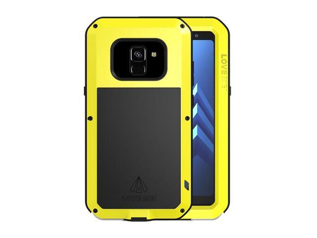 buy popular 31ff2 6d1a7 LOVE MEI Aluminum Metal Case For Samsung Galaxy A8 Cover Powerful Armor  Shockproof Life Waterproof Case For Samsung Galaxy A8 (Yellow) - Newegg.com