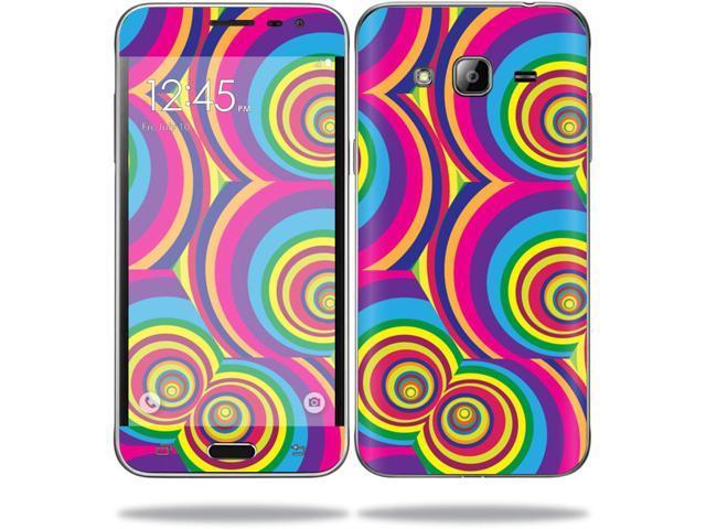 Skin Decal Wrap for Samsung Galaxy J3 (2016) sticker Groovy 60s - Newegg com