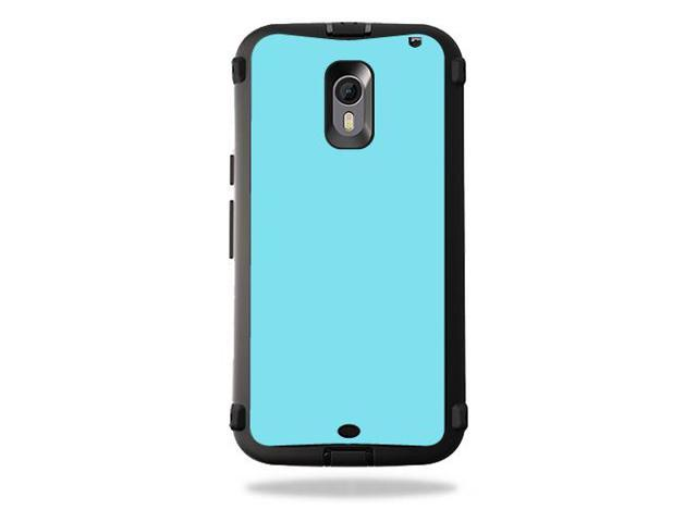 finest selection b4857 00110 Skin Decal Wrap for OtterBox Defender Moto X Pure Edition Baby Blue -  Newegg.com