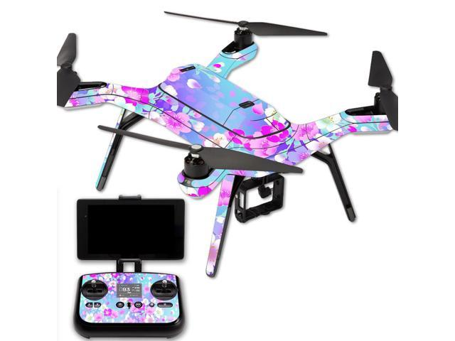 Skin Decal Wrap for 3DR Solo Drone Quadcopter sticker In Bloom - Newegg com