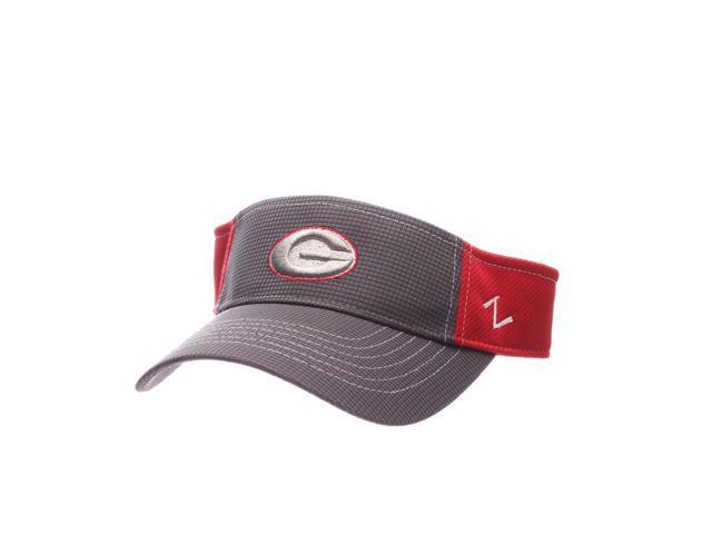 Georgia Bulldogs UGA Visor Zephyr Adjustable Hat - Newegg.com ca85e46e3036