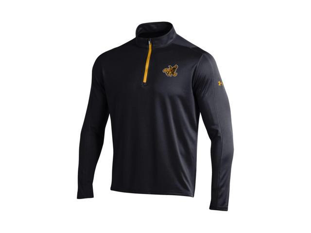 Iowa Hawkeyes Under Armour Black Golf Loose 1 4 Zip Long Sleeve Pullover (L d8a472c24906