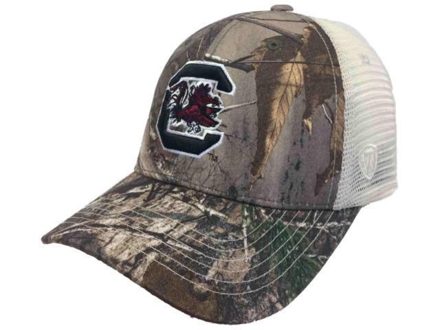 de593de7cf14d South Carolina Gamecocks TOW Realtree Camouflage Mesh Yonder Adjust Snap Hat  Cap