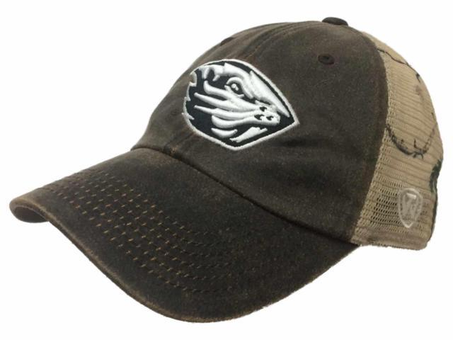 new product db120 7450a ... amazon oregon state beavers tow brown realtree camo mesh adjustable  snapback hat cap 95591 bc79f
