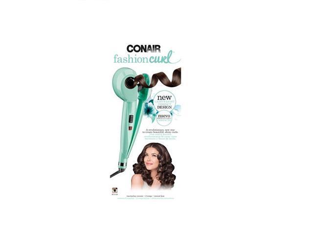 conair fashion curl lightweight automatic curler  mint