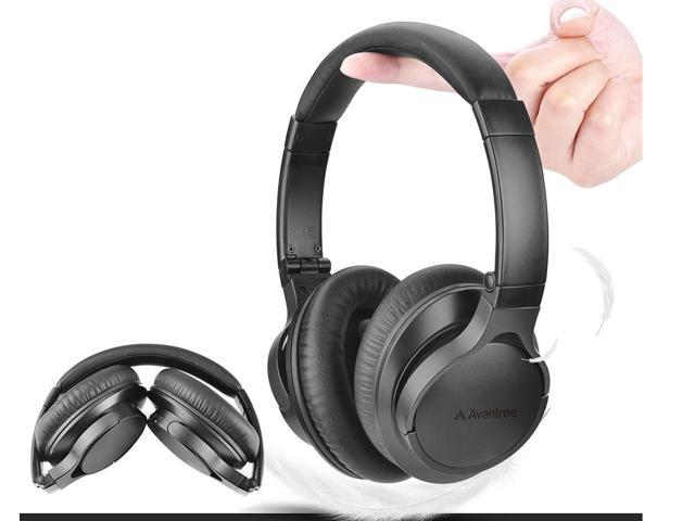 a0abaf8662d Avantree HS063 Bluetooth 4.1 Headphones Over Ear with Mic, Hi-Fi Stereo for  Mobile