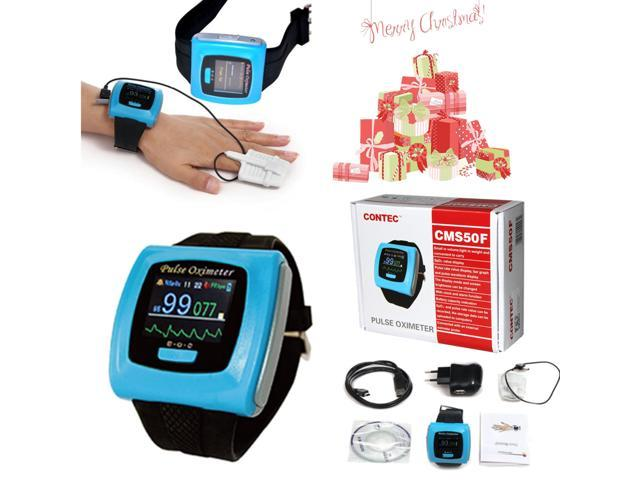 CMS50F Wrist Finger Pulse Oximeter SpO2 Blood Oxygen