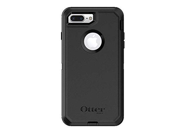 separation shoes ae8ec fa3f3 OtterBox Defender Series Case for iPhone 8 Plus/iPhone 7 Plus and Belt Clip  fits OtterBox with Screen Protector - Black - Newegg.com