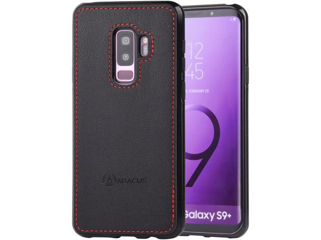 buy popular aa7fe 53be8 Abacus24-7 Samsung Galaxy S9 PLUS Case, Slim Bumper Back-Protection S9+  Cover, Black - Newegg.com