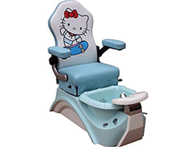 Kids Pedicure Chair BLUE KITTY Childs Pedicure Spa Nail Salon ...