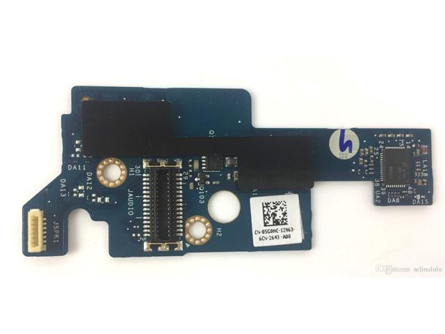 5G0HC NEW OEM Audio Port I/O Daughterboard for Dell XPS 15 9560 Precision  5520 - Newegg com