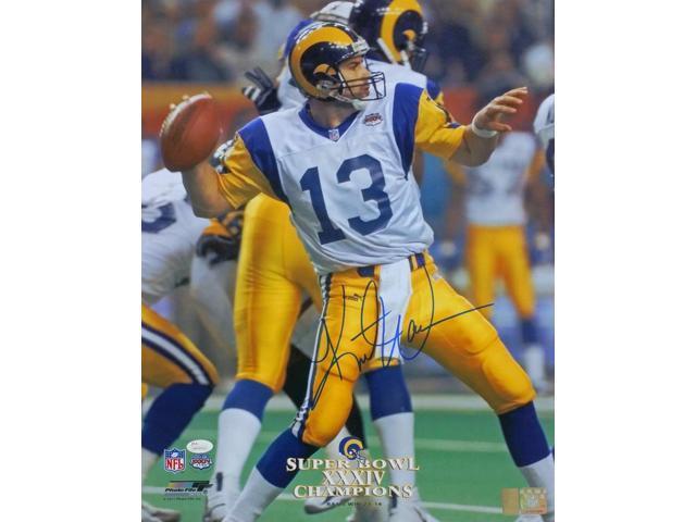 wholesale dealer e7322 015f3 Kurt Warner Signed St. Louis Rams Super Bowl XXXIV 16x20 Photo JSA -  Newegg.com