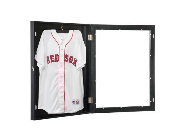 "HOMCOM Jersey Frame Display Case Football Baseball Basketball Shirt Shadow  Box Cabinet (28""x35 dbb7de039"