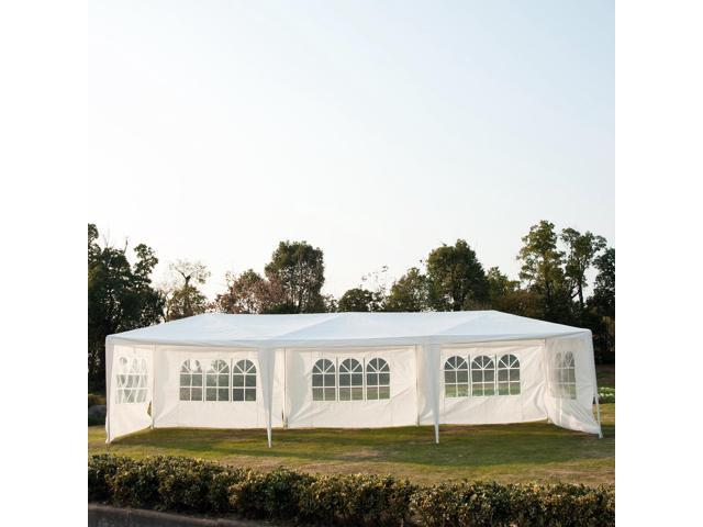 10x30ft Wedding Party Gazebo Garden Outdoor Sun Shelter Portable