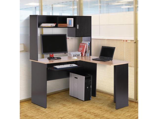 L Shaped Computer Table Corner Pc Desk Space Saving W