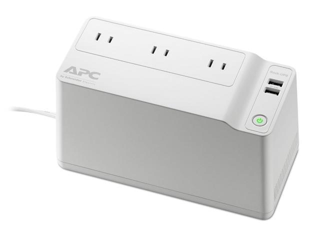 APC Back-UPS 125 VA 75 Watts 3 Outlets UPS, BGE90M-CA (North America  Version) - Newegg com
