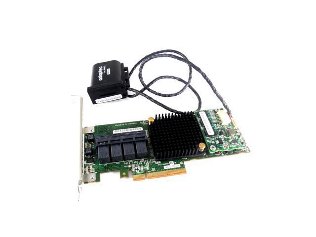 Adaptec 2274400-R SAS/SATA 6GBPS 1GB PCIe RAID Controller