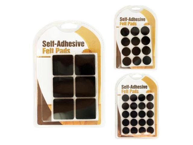123 Wholesale Set Of 96 Self Adhesive Felt Floor