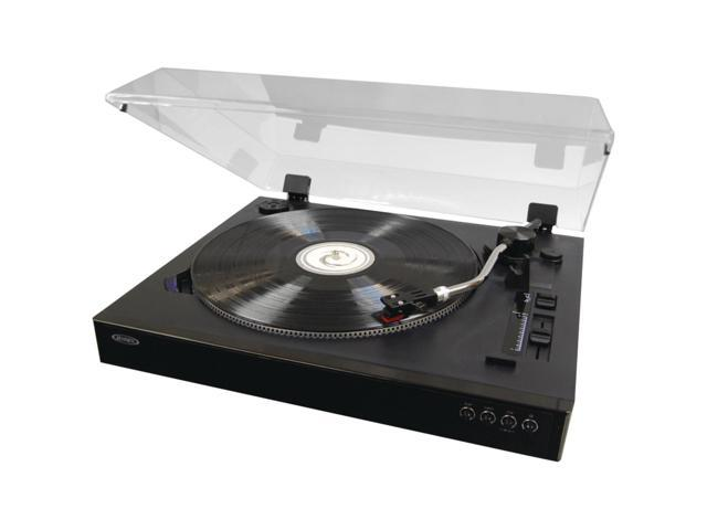 JENSEN JTA 470 Professional 3 Speed Stereo Turntable With Speed Adjustment