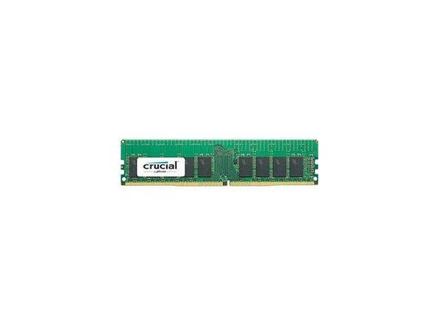 Crucial 16gb 288 Pin Ddr4 Sdram Ecc Registered Ddr4 2400 Pc4 19200