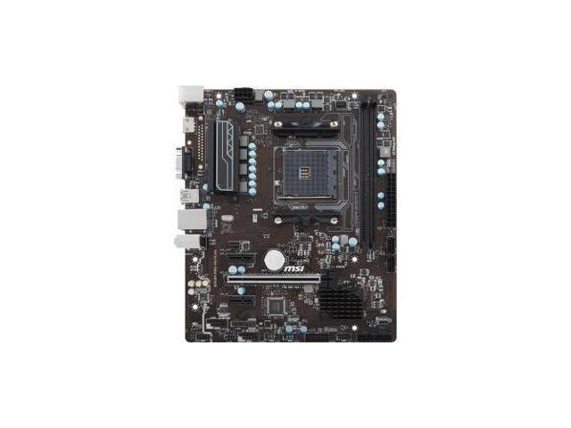 MSI B350M PRO-VD PLUS Desktop Motherboard - AMD Chipset - Socket AM4 -  Newegg com