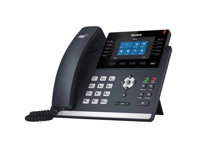 Yealink SIP-T46S-SFB Skype for Business Edition Executive HD IP Phone -  Newegg com