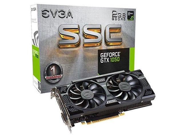 EVGA 02G-P4-6154-KR GEFORCE GTX 1050 SSC GAMING