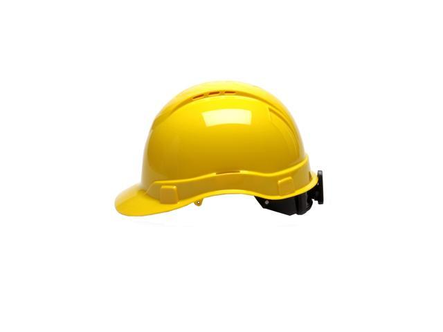 PYRAMEX SAFETY PRODUCTS HP44130V PYRAMEX SAFETY PRODUCTS HP44130V RL Vented  Cap Style 4 Pt Ratchet Yellow - Newegg com