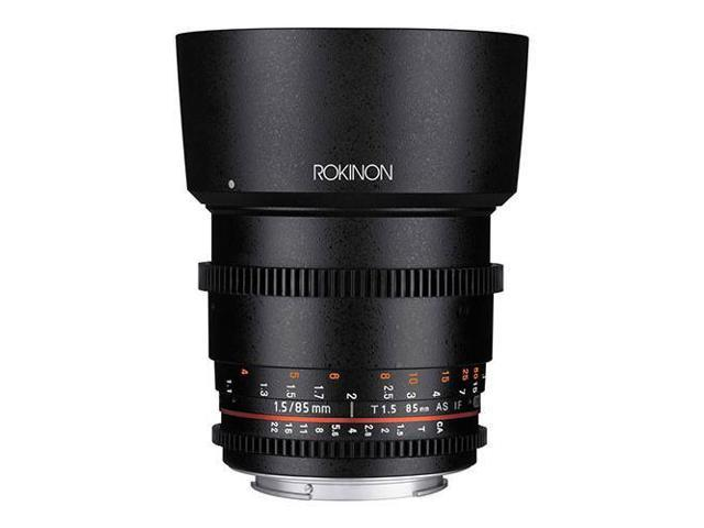4df306070 Rokinon 85mm T1.5 Cine-lente asférica para Canon EF montaje #DS85M-C -  Newegg.com