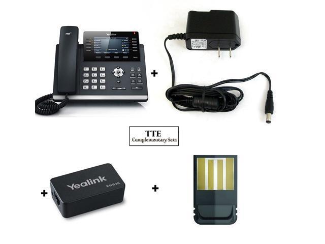 Yealink YEA-SIP-T46S IP Desk Phone BUNDLE, Optima HD voice, 16 SIP accounts  VOIP Phone - Newegg com