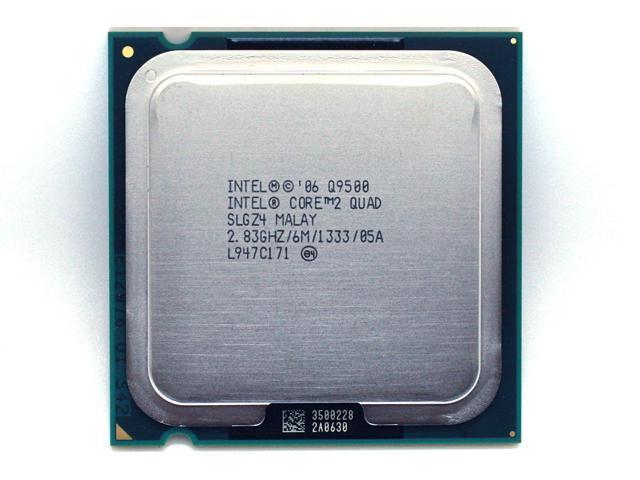 Intel Core 2 Quad Q9500 2.83 GHz Quad-Core CPU Processor 6M 95W 1333 LGA 775