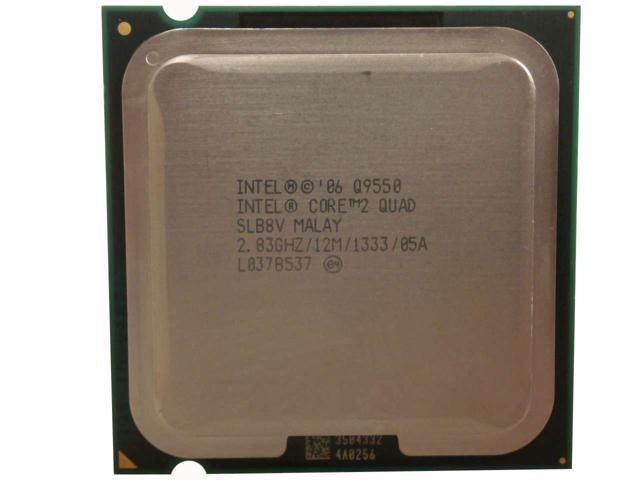 Intel Core 2 Quad Processor Q9550 283GHz 1333MHz 12MB 95W LGA775 Desktop CPU