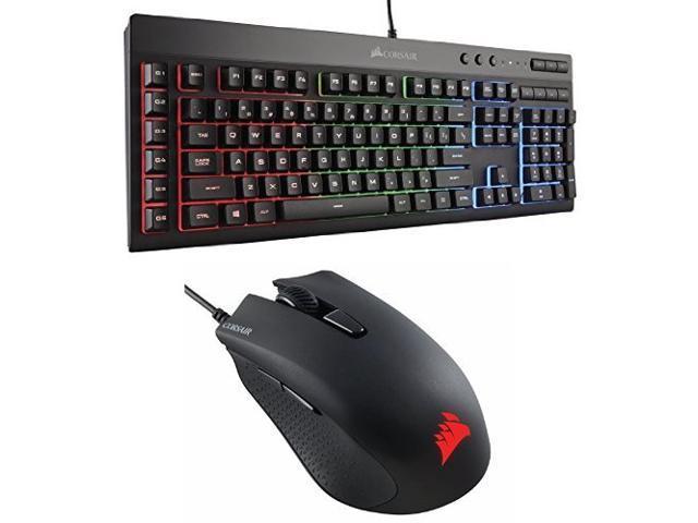 6ec7057b59f Corsair Gaming K55 RGB Keyboard, Backlit RGB LED with Corsair CH-9301011-NA