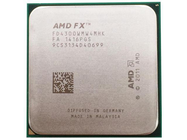 Amd Fx Series Fx 4300 3 8 Ghz 4 Mb Cache Quad Core Cpu Processor