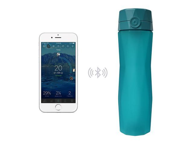 Water Bottle That Tracks Intake Water Ionizer