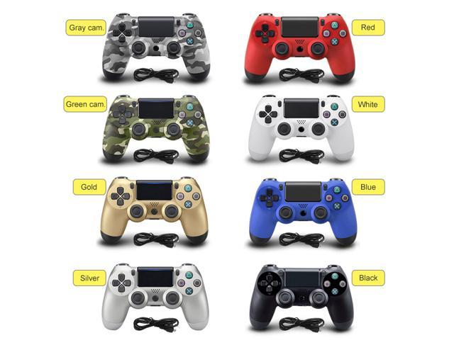 CORN USB Wired Dual Vibration Game Controller for PS4 Controller Joystick  Gamepads for Play Station 4 Console PS4 PRO - Blue - Newegg com