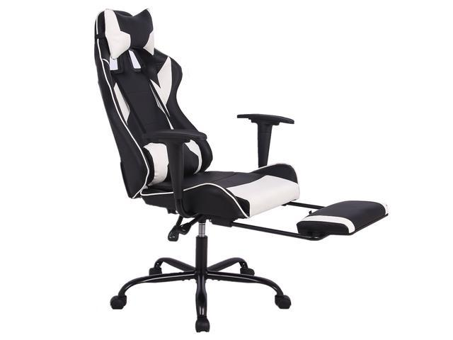 Wondrous Corn Gaming Chair Ergonomic Swivel Office Chair High Back Racing Chair With Footrest Lumbar Support And Headrest Ncnpc Chair Design For Home Ncnpcorg