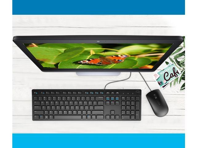 dell wired keyboard kb216 580 admt dell optical mouse combo ms116 office keyboard and mouse. Black Bedroom Furniture Sets. Home Design Ideas