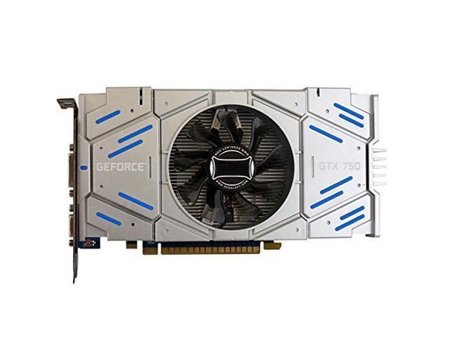 CORN NVIDIA GeForce GTX750 Graphic Card 1GB 128 Bit DDR5 DirectX 11 Video Card GPU PCI Express3.0 16X DVI/VGA/HDMI