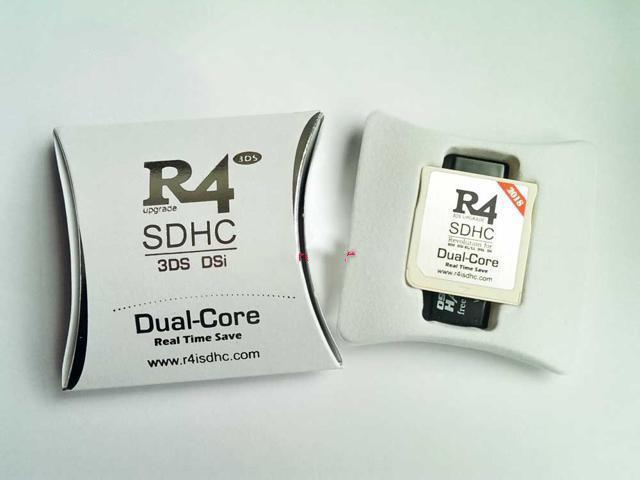New R4I SDHC Dual Core Flash Card Adapter for DS DSI 2DS 3DS - Sale: $9.98 USD