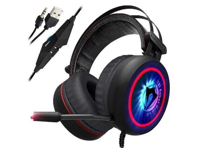 c758209beb1 TBI-PRO Gaming Headset for Xbox One, PS4, PC - 7.1 Best Surround ...