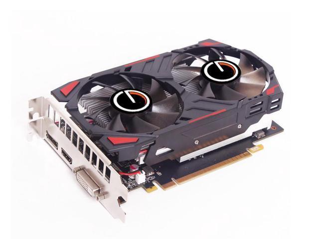 CORN GTX 1050 Ti 128-Bit 4GB GDDR5 Graphic Card with dual fans DirectX12  Video Card GPU PCI Express 3 0 DP/DVI-D/HDMI,Play for  LOL,DOTA,COD,PUBG,Apex