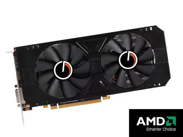 CORN AMD RX580 256-Bit 4GB GDDR5 Graphic Card support DirectX12 with dual  fans Video Card RX 580 GPU PCI Express 3 0 DP/DVI-D/HDMI,Play for