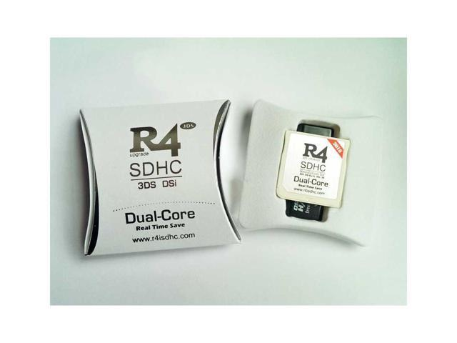New R4I 2018 SDHC Dual Core Flash Card Adapter for DS DSI 2DS 3DS New3DS &  All DS Consoles - White - Newegg com