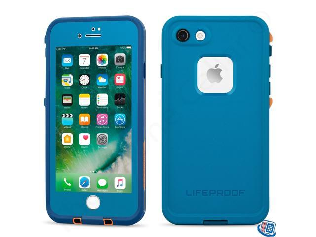 meet a929e b873d LifeProof Fre Waterproof Case for iPhone 7 - Base Camp Blue (Cowabunga  Blue/Wave Crash/Mango Tango) - Newegg.com